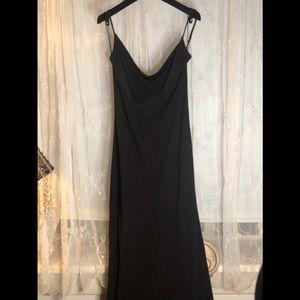 Vintage Calvin Klein Collection Aubergine Gown